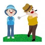 老化防止のためにもゴルフを続けよう