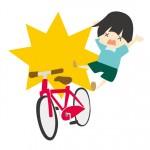 自転車事故も警察への届けが必要です